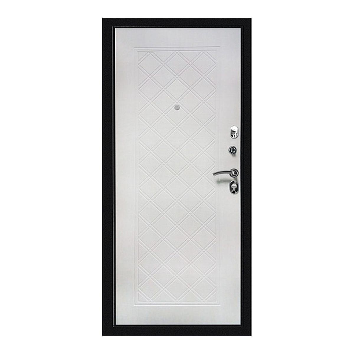 Металлическая дверь ФОРТЕ СИМПЛ 2066*880*104 левая