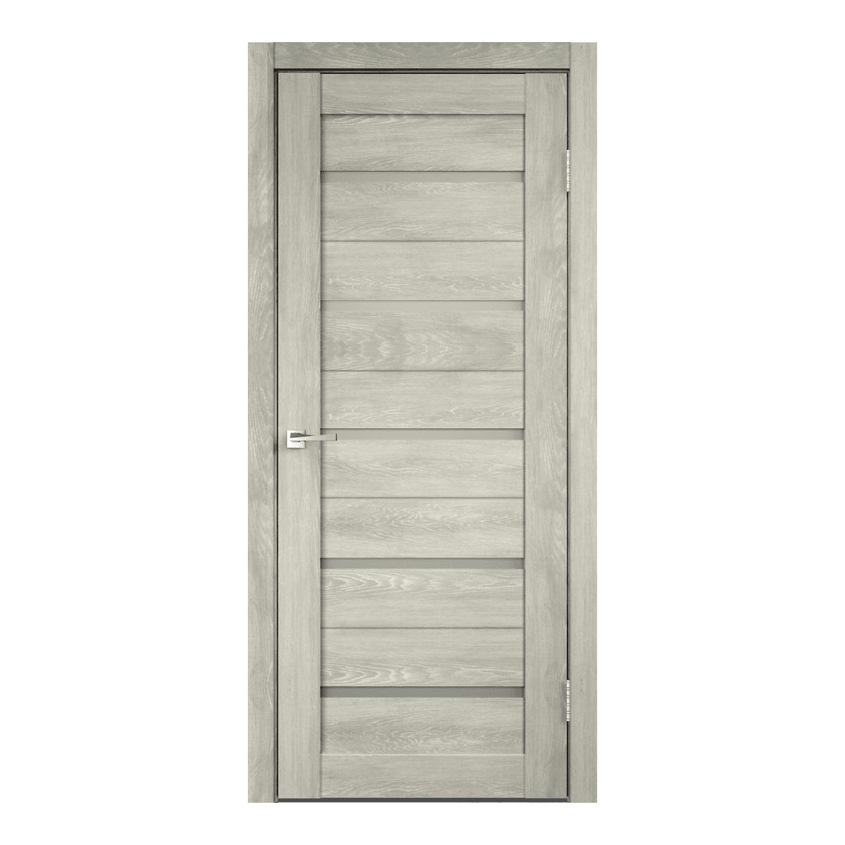 Дверное полотно Duplex ПО Мателюкс 600*2000 дуб шале седой