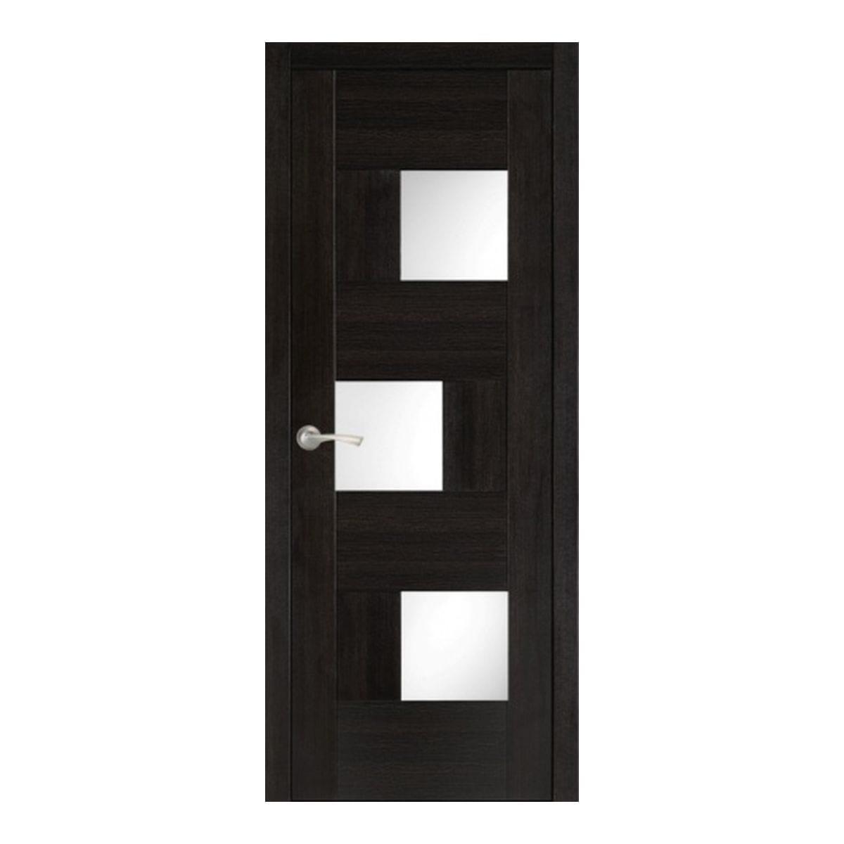 Дверное полотно Астрид 302 остекленное (700*2000) венге