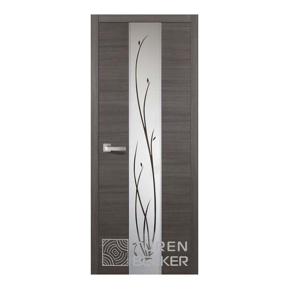 Дверное полотно Соммер 708Ш (600*2000) серый нордик