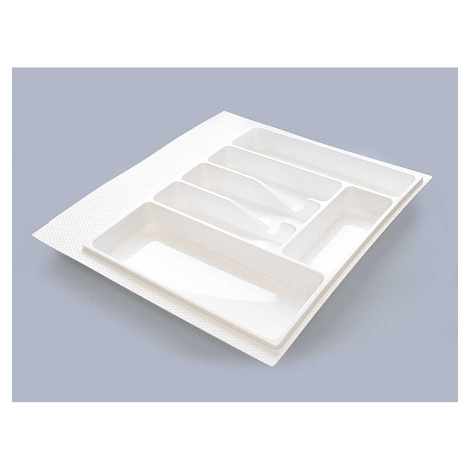 Лоток для столовых приборов М600(540х490)белый