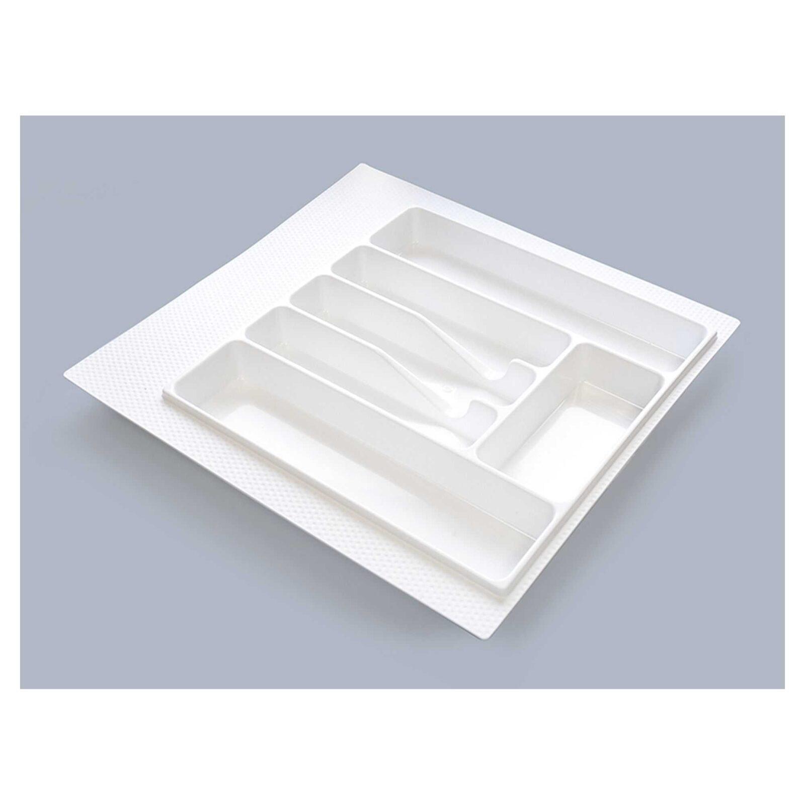 Лоток для столовых приборов М500-550(470х490)белый