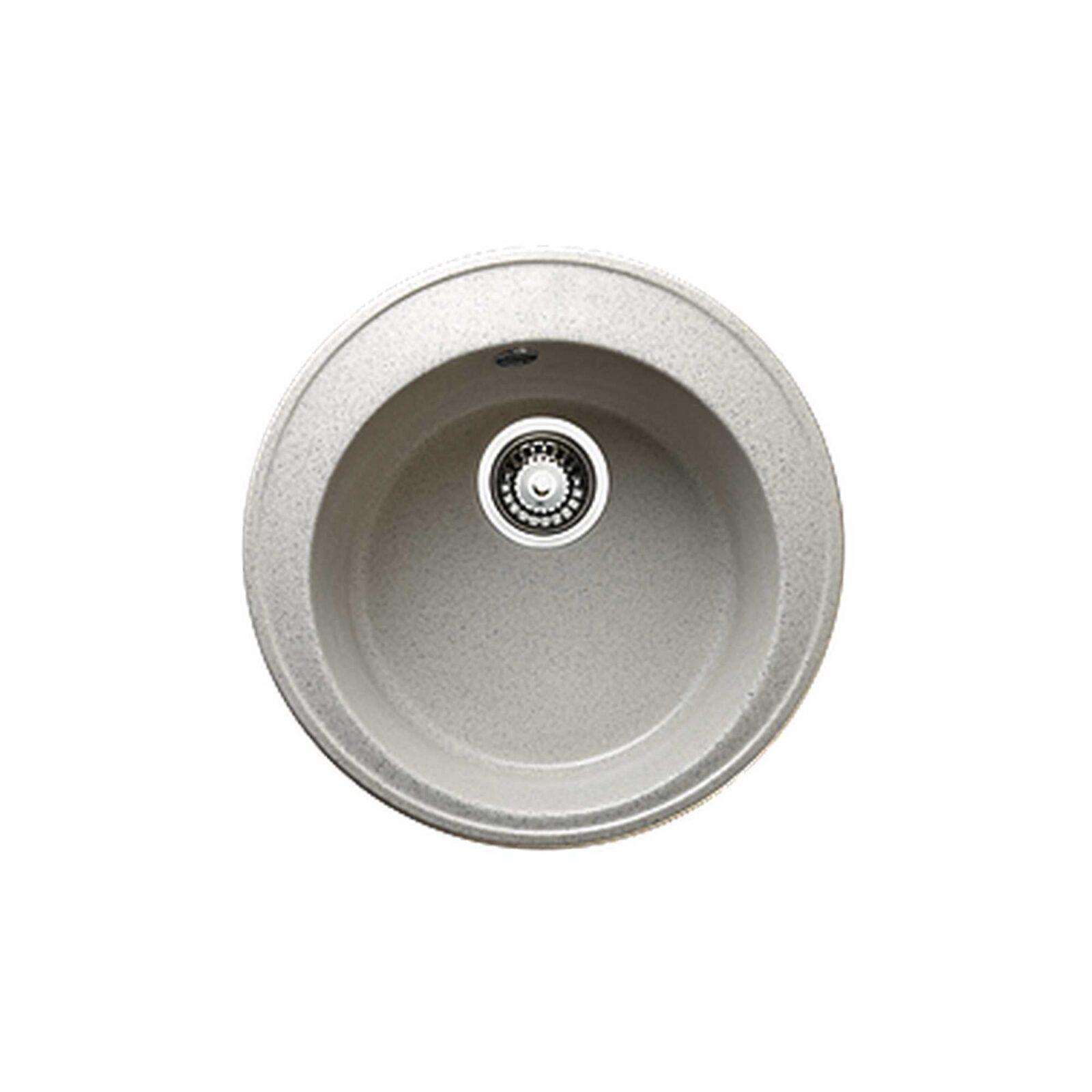 Мойка G-9(серебристый) (470х190) из гранитной крошки+сифон