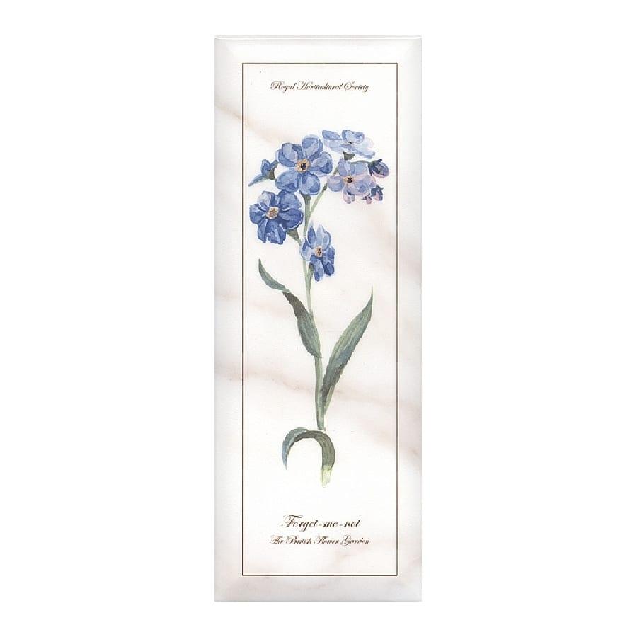 Декор Ноттингем Цветы грань A83 15*40