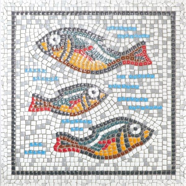 Декор Равенна рыбы 20*20