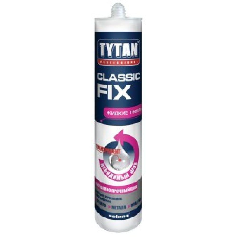 Клей монтажный TYTAN Classic Fix прозрачный 310мл.