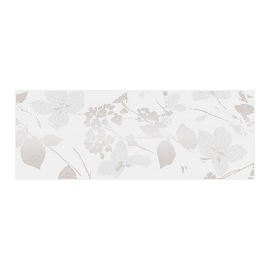 Декор Вилланелла Цветы белый 15*40