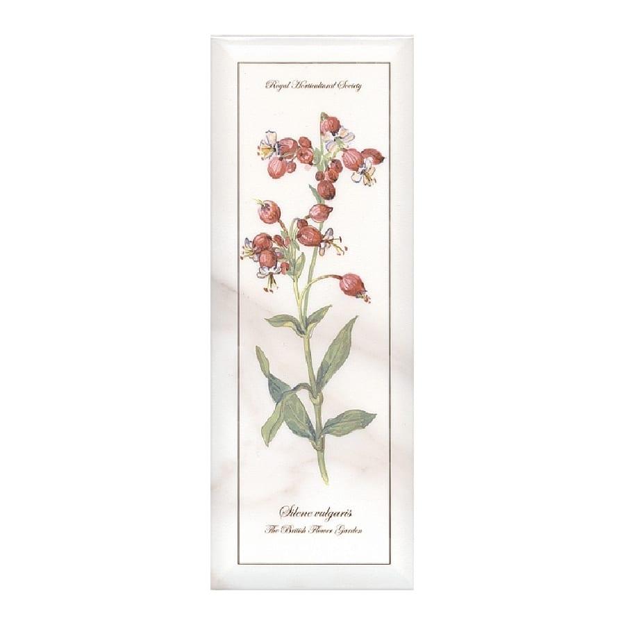 Декор Ноттингем Цветы грань A87 15*40