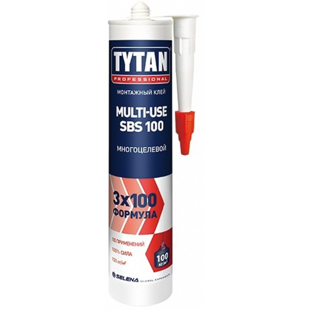 Жидкие гвозди TYTAN монтажный Multi-use SBS 100 беж.
