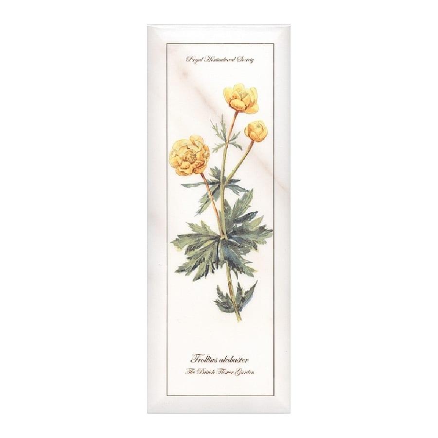 Декор Ноттингем Цветы грань A86 15*40