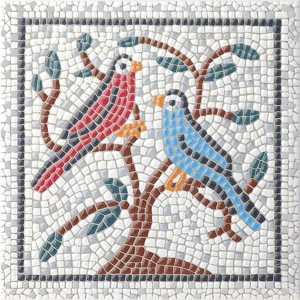 Декор Равенна птицы 20*20