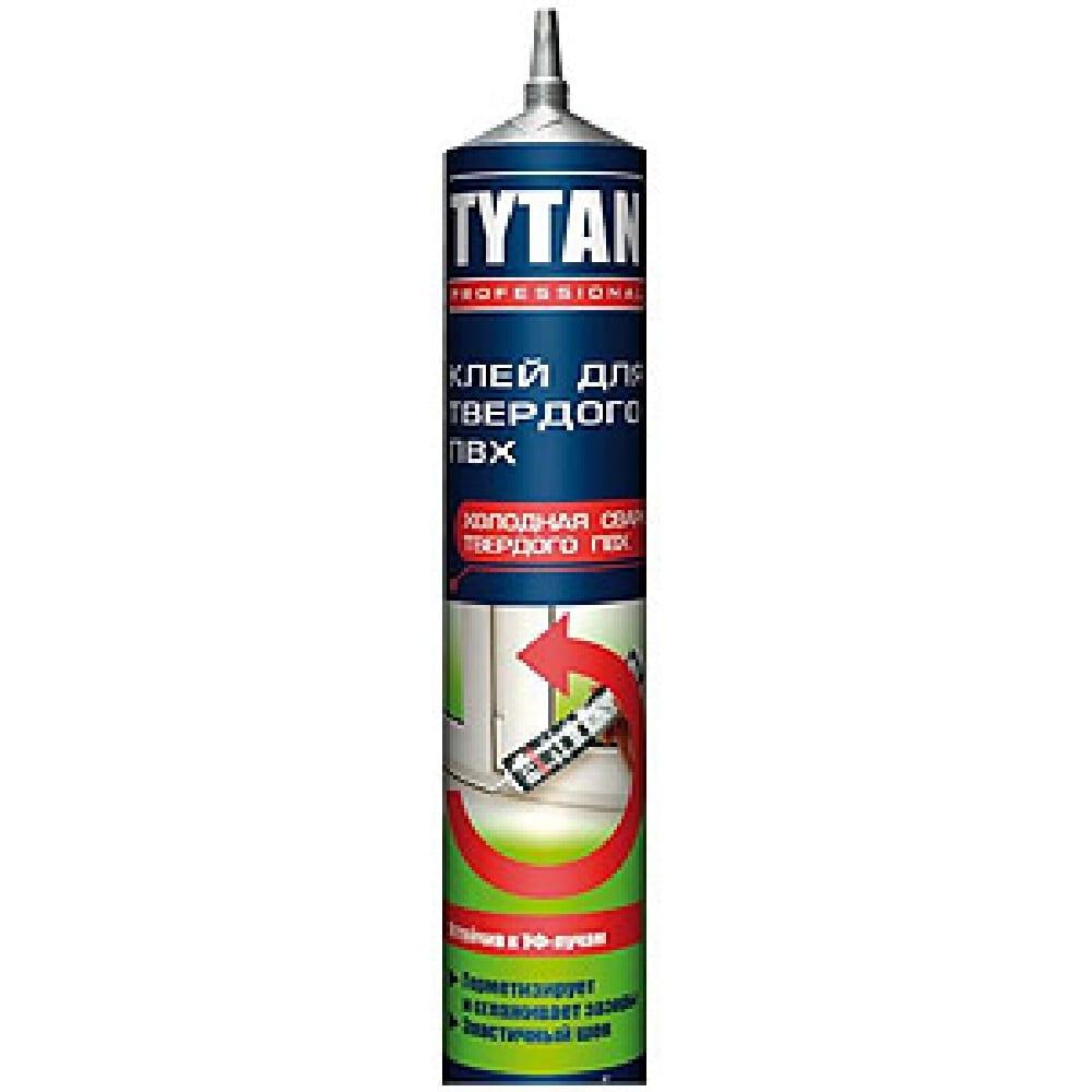 Клей для твердого ПВХ TYTAN 200мл холодная сварка