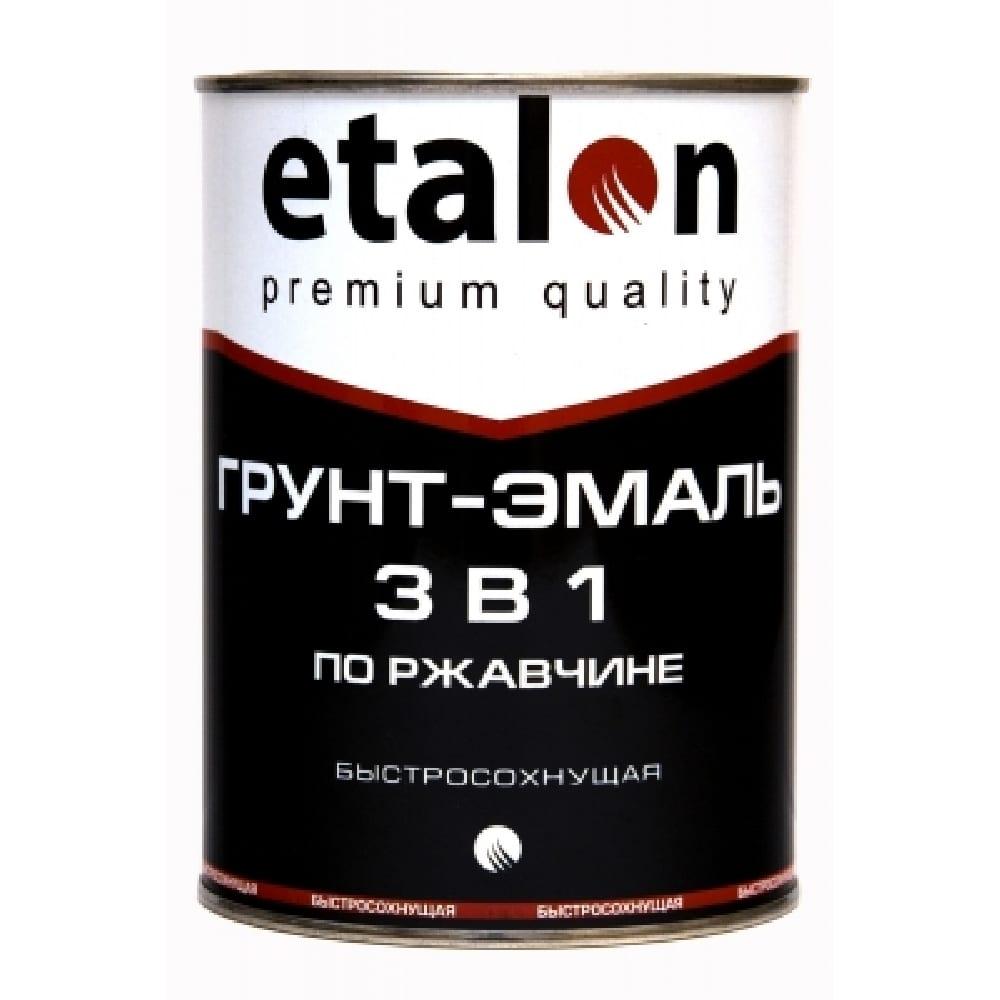 Грунт-эмаль 3в1 ярко-зел ускор.сушки (1,9 ) Etalon