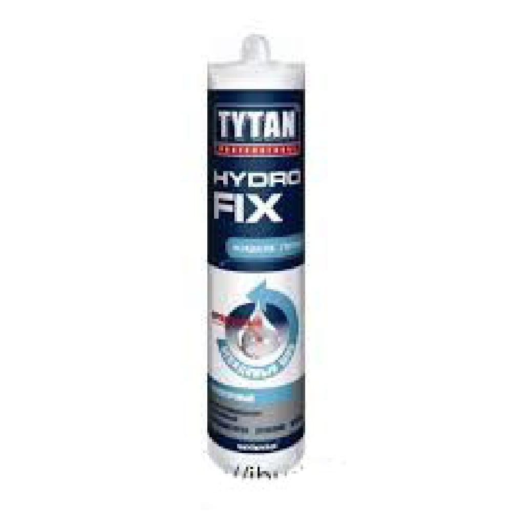 Клей монтажный TYTAN Hydro Fix прозрачный 310мл.