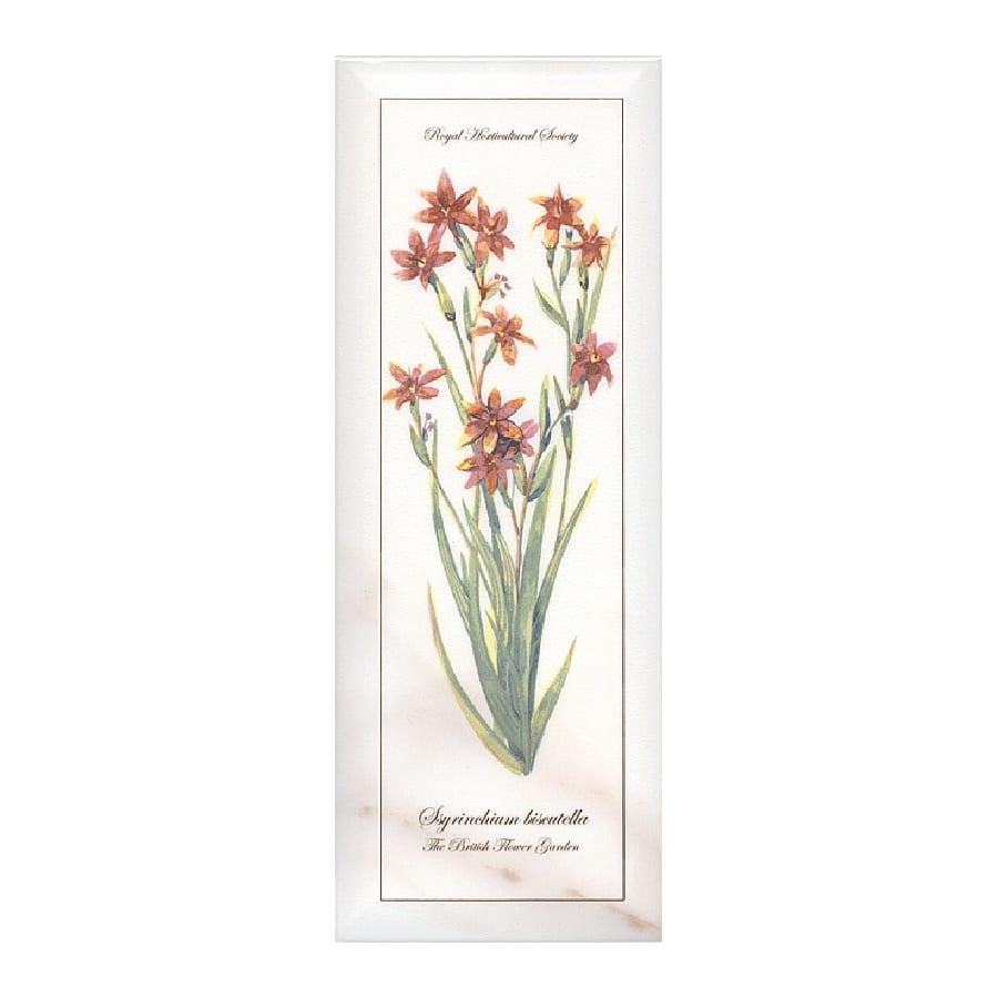 Декор Ноттингем Цветы грань A88 15*40