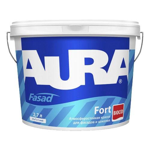 атмосферостойкая краска Aura fasad 2.7л