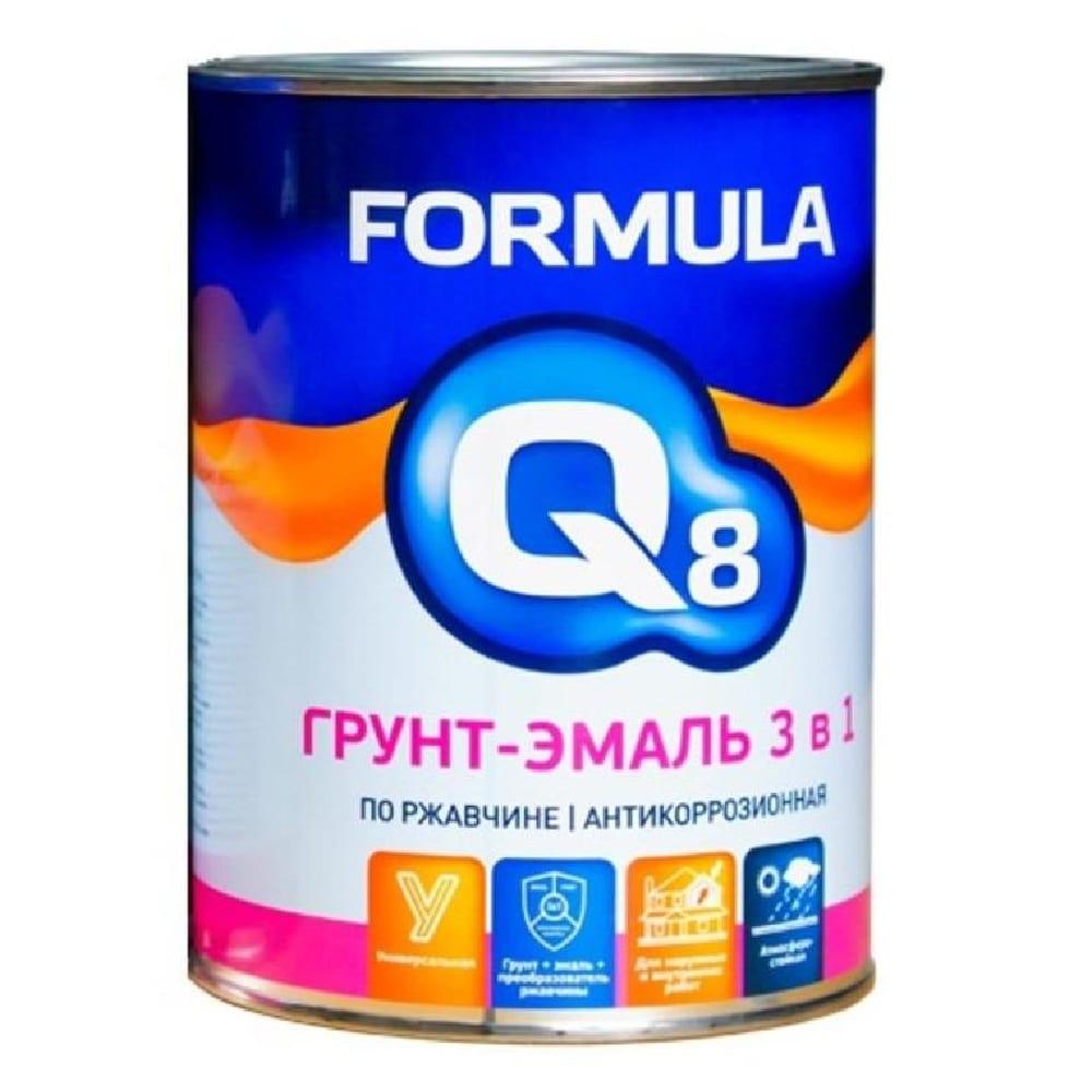 Грунт-эмаль по ржав.ЖЁЛТАЯ 0,9кг Formula Q8