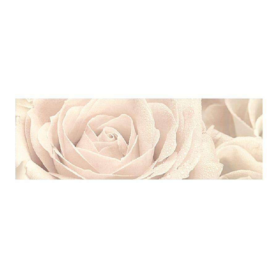 Декор Розовый город Роза 25*75