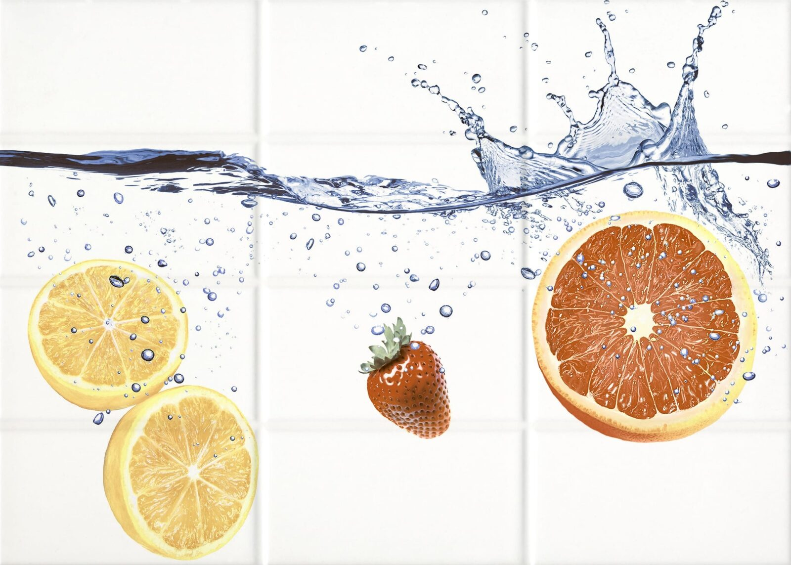 Декор Cersanit Mono фрукты 1 25*35