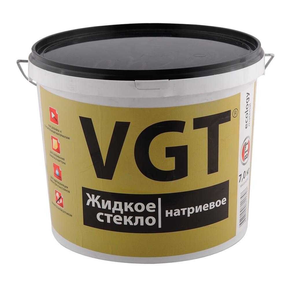 Жидкое стекло BГТ натриевое 3 кг