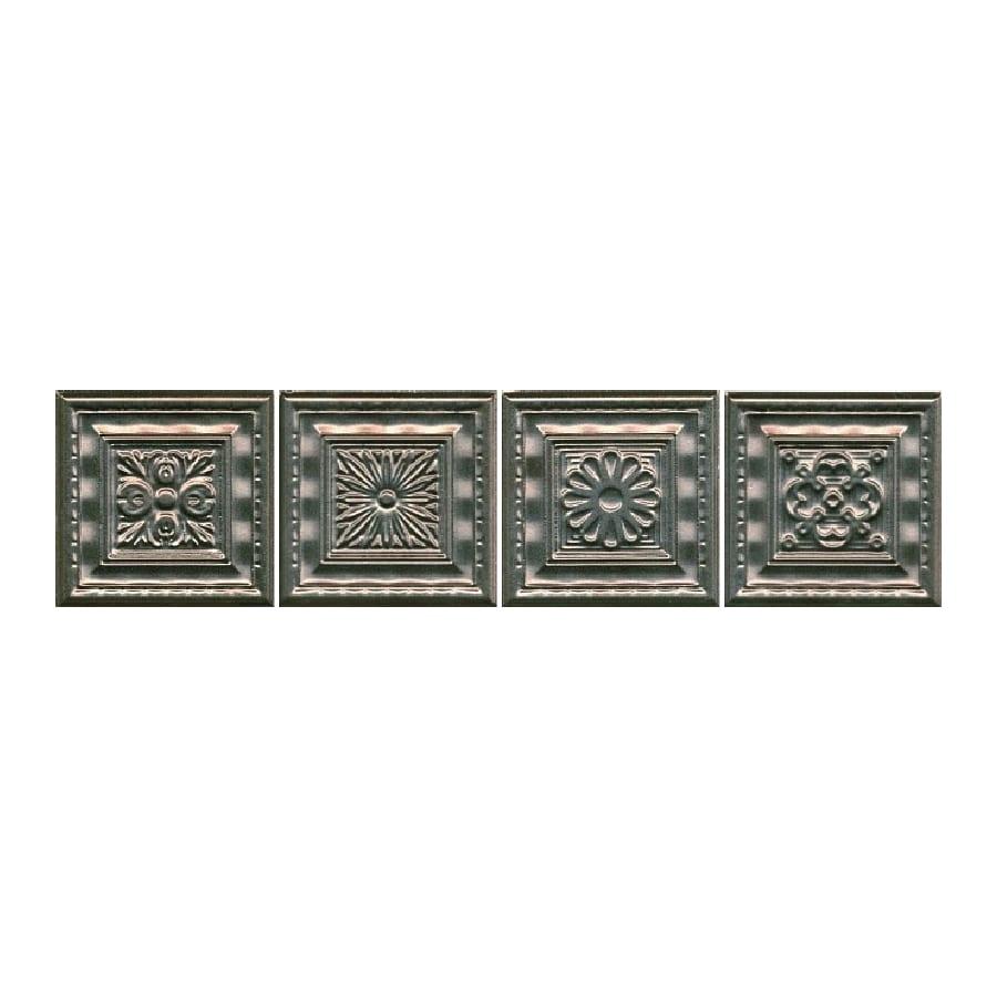 Декор Барельеф бронза 9,9*9,9