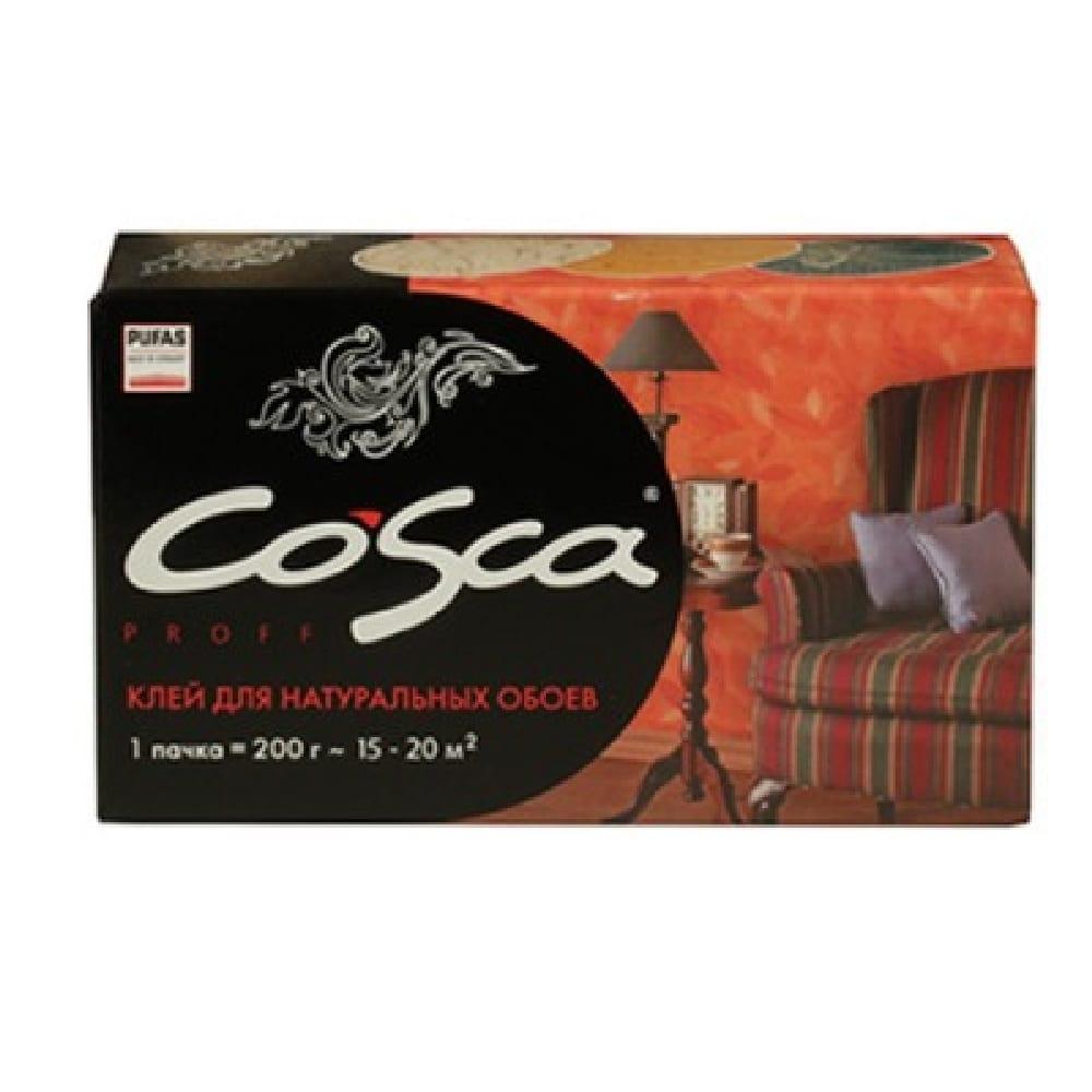 Клей Cosca Proff для натуральных обоев 200гр.