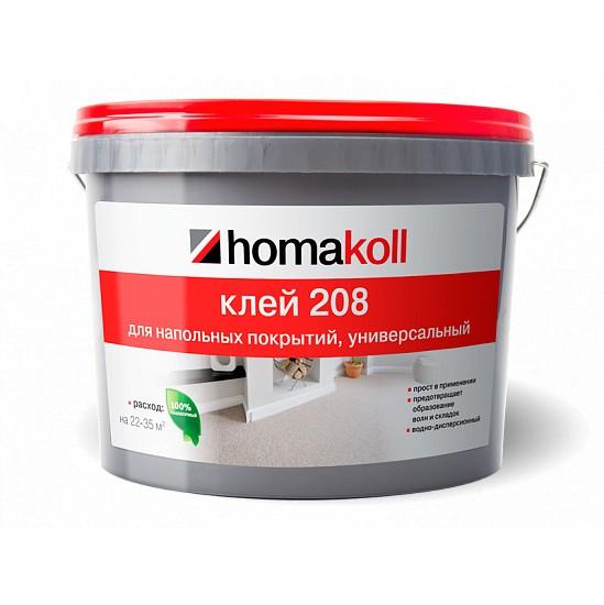Клей Homakoll 208 для напольных покрытий 3л (4 кг)
