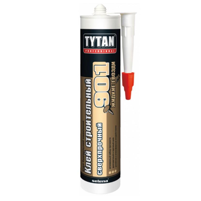 Жидкие гвозди TYTAN №901 для внутренних и наружных работ 390гр.
