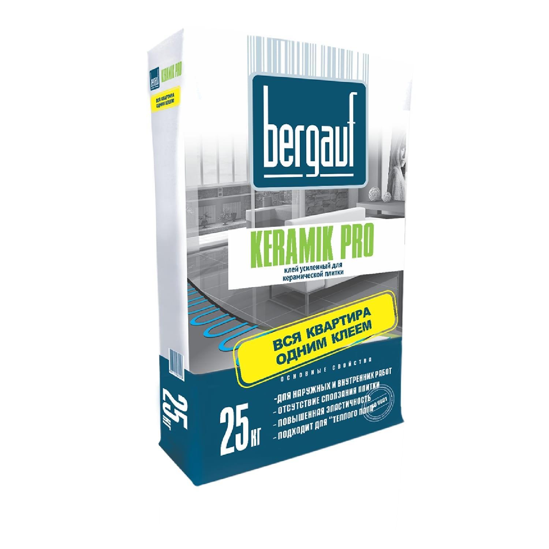 Bergauf Keramik Pro клей усиленный 25 кг.