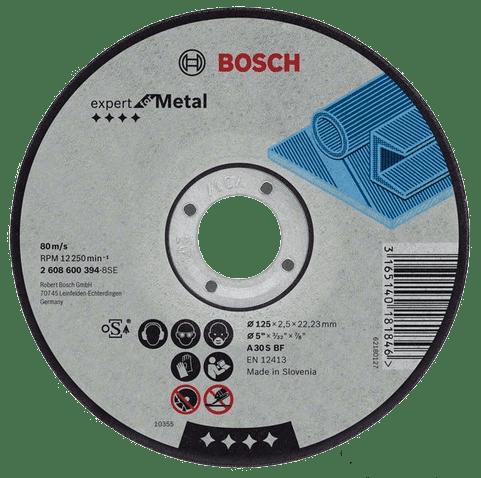 Диск отрезной по металлу 115*1,6*22 Bosch