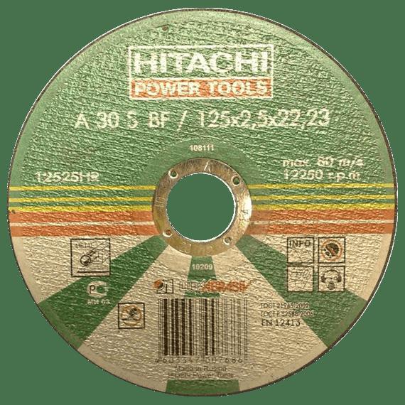 Диск отрезной по металлу 125*2,5*22 HITACHI