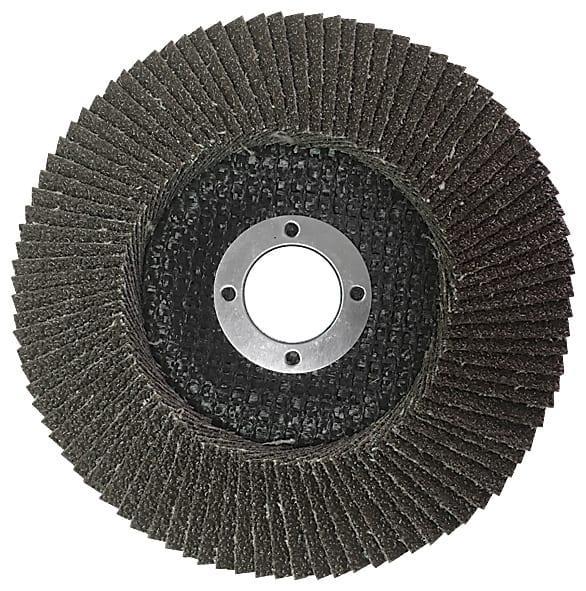 Диск наждачный лепестковый 125 мм*22,2мм Р80 GREATFLEX
