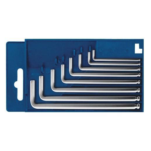 Ключи шестигранные 1,5-8мм 8шт