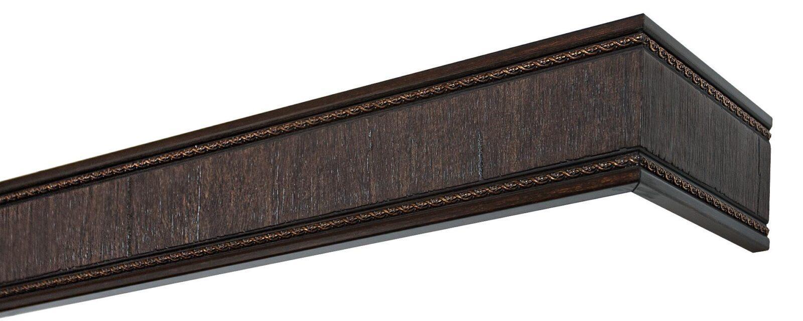 Комплект боковин для карниза Унисон венге 80мм