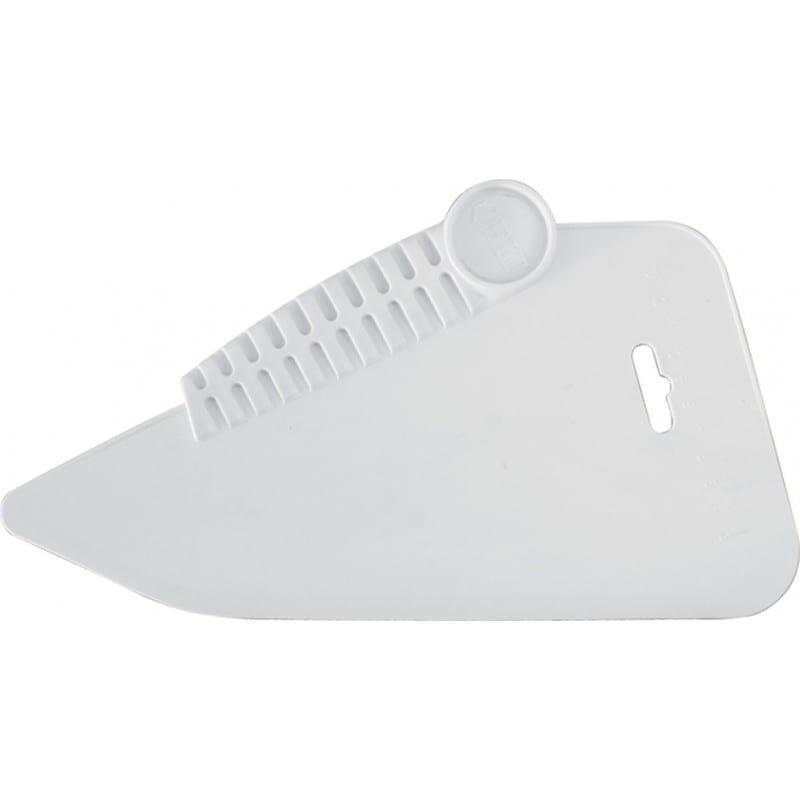 Шпатель прижимной обойный пластиковый 190мм белый