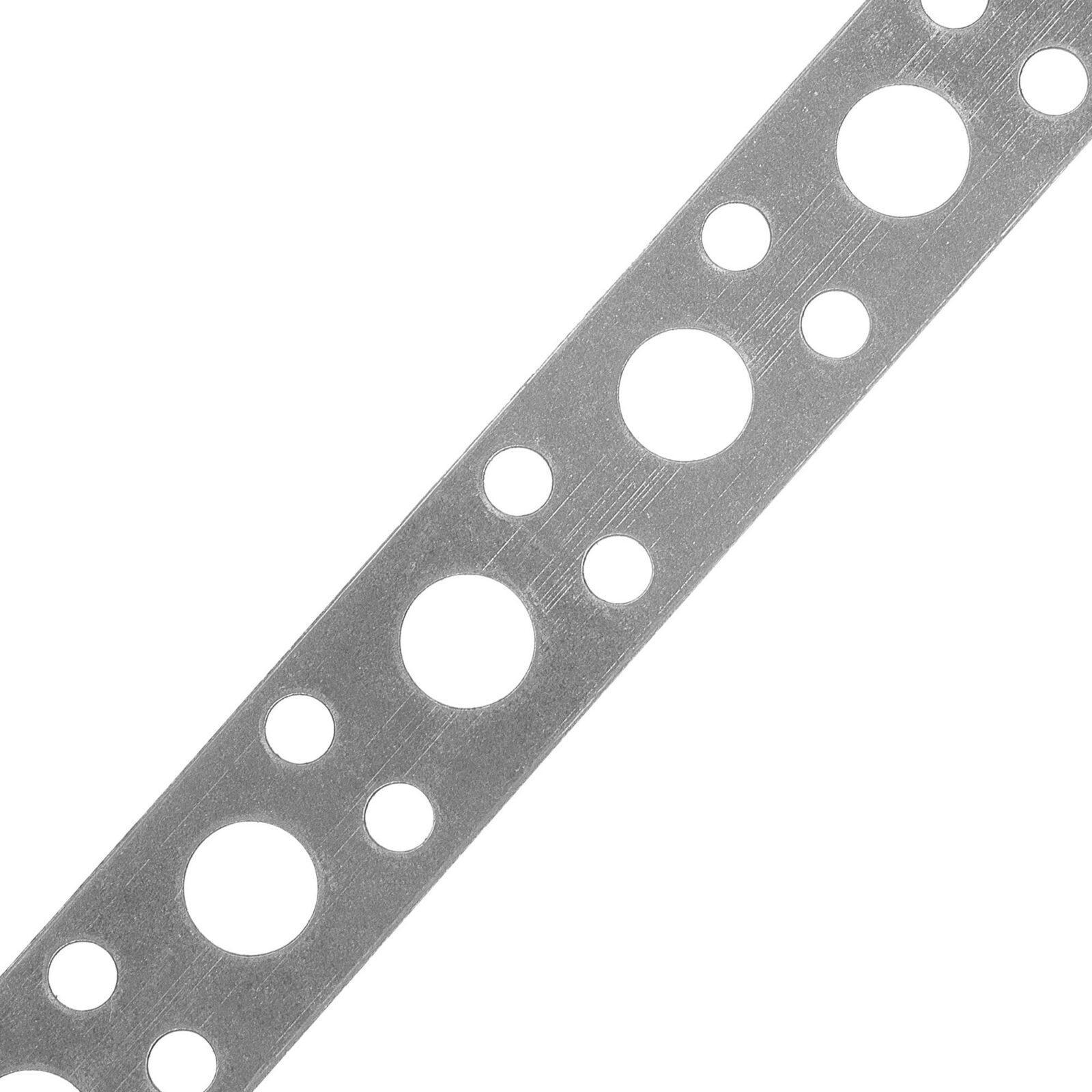 Лента стальная перфорированная ЛСП 12*0,5*5м