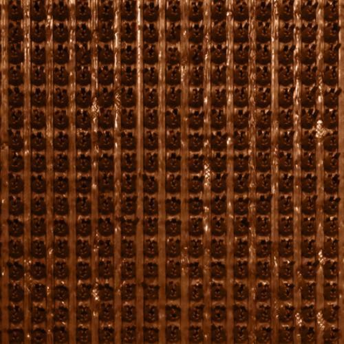 Коврик пласт (Щетинка) 135 коричневый