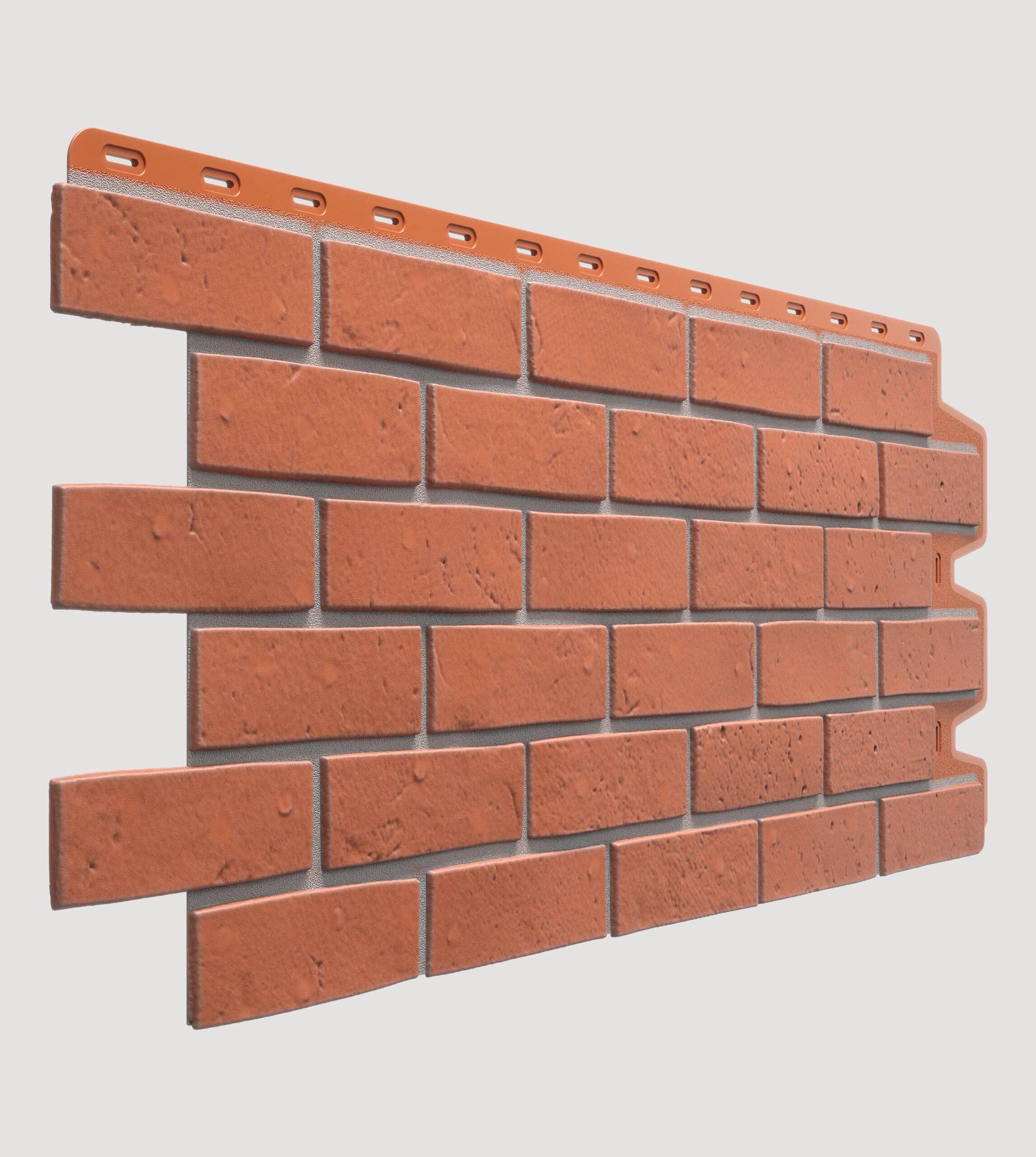 Фасадная панель BERG Кирпичный 1127*461мм
