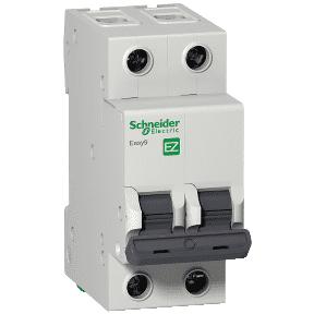 Автоматический выключатель 2п/16А C 4.5kA Easy9