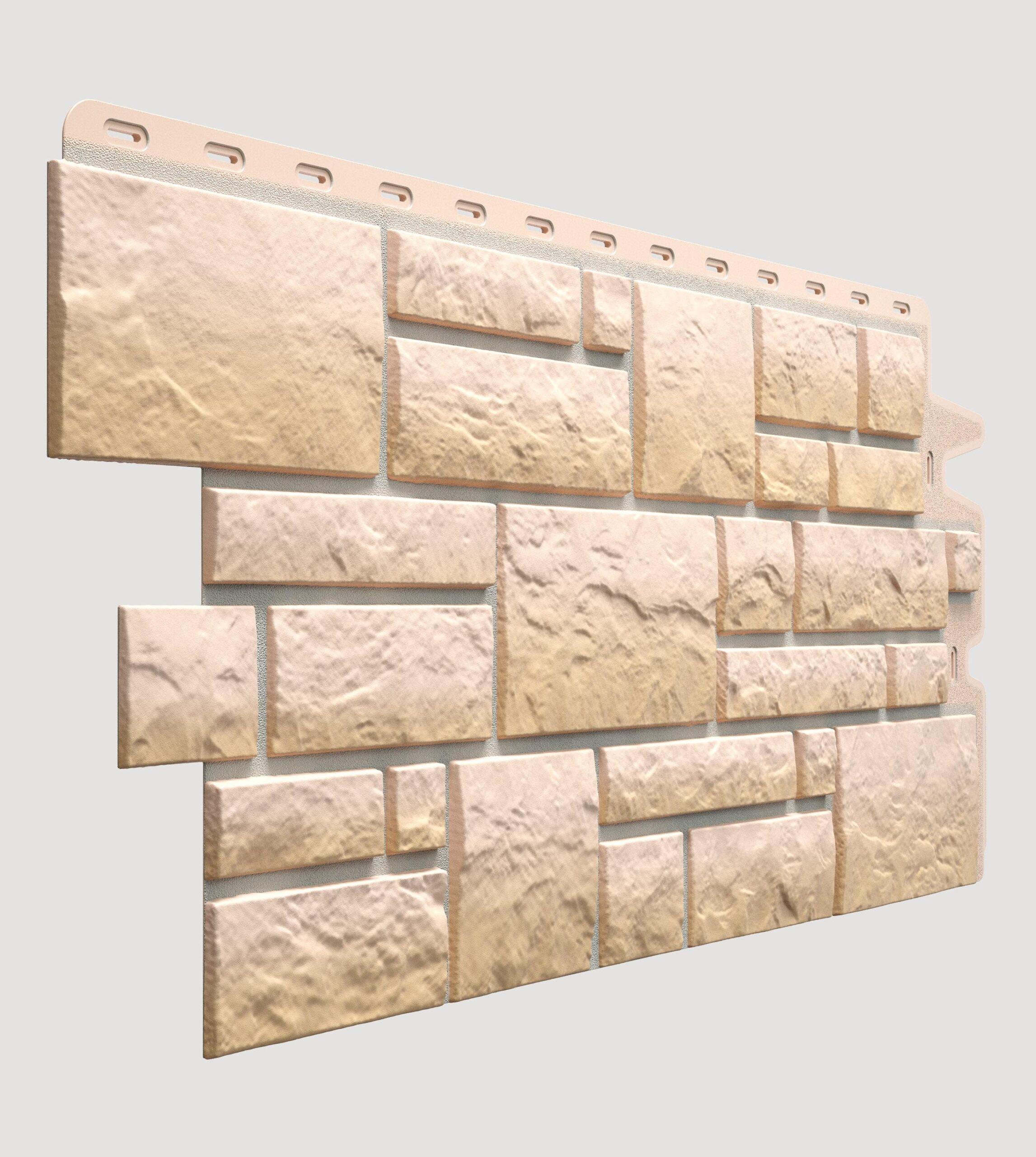 Фасадная панель Burg Песчаный 1072*472 мм