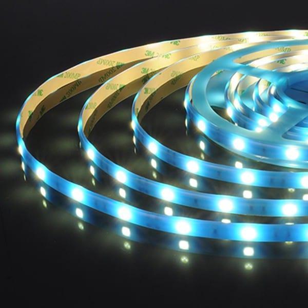 Светодиодная лента 30Led 7.2W IP65 синий