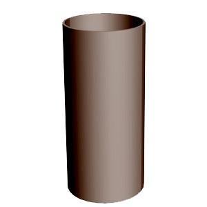 Труба водосточная 3000 мм (шоколад)
