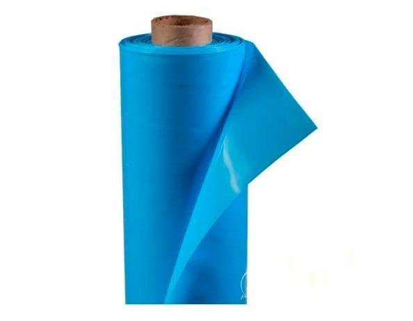 Пленка полиэтиленовая 350 мкм 1,5м (Россия) голубая 50 м/рулон