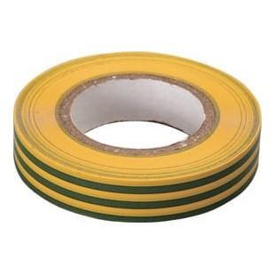 Изолента ПВХ 15мм*20м жёлто-зелёная
