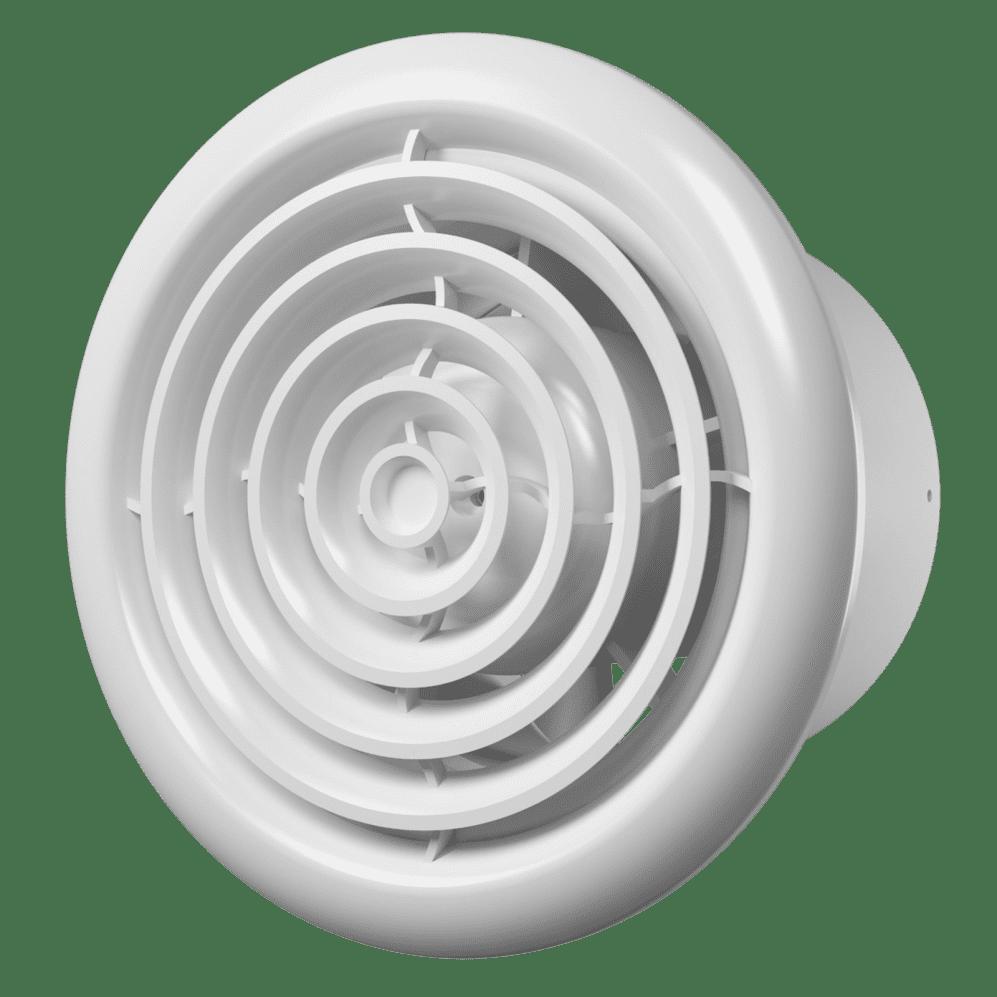 Вентилятор Flow 5 BB осевой канальный вытяжной D100 с двигателем на ш/подшип