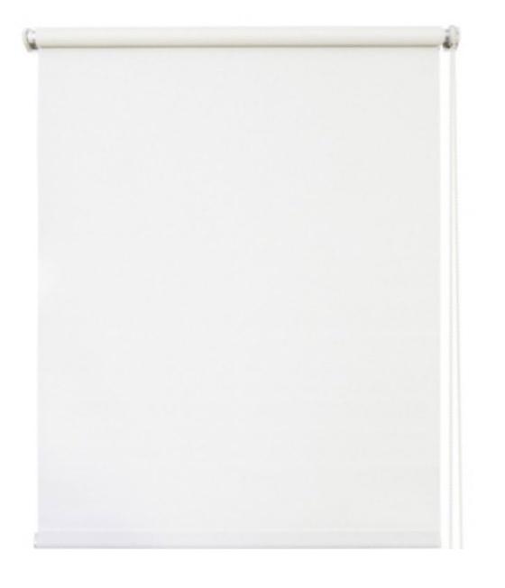 Рулонная штора светонепроницаемая СТАНДАРТ 8070 Сильвер белый с/н 140х175см
