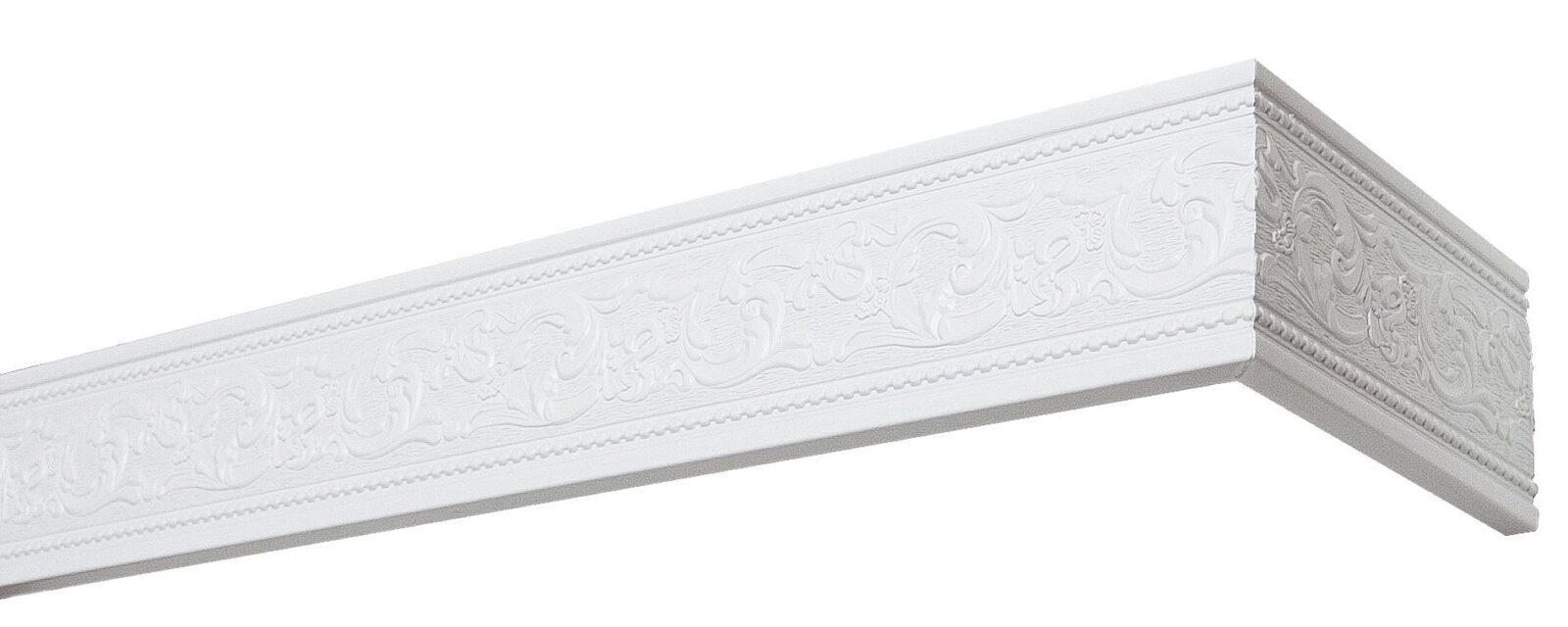 Комплект боковин для карниза Унисон 2014 белый 80мм