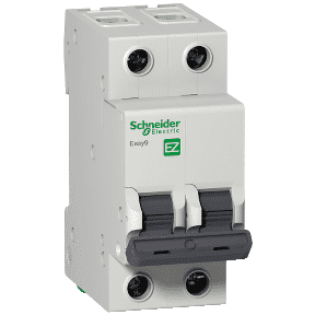 Автоматический выключатель 2п/10А C 4.5kA Easy9