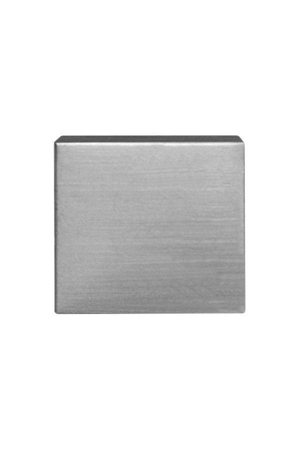Наконечник для карниза ОСТ D16 Куб, сталь (уп.2шт)