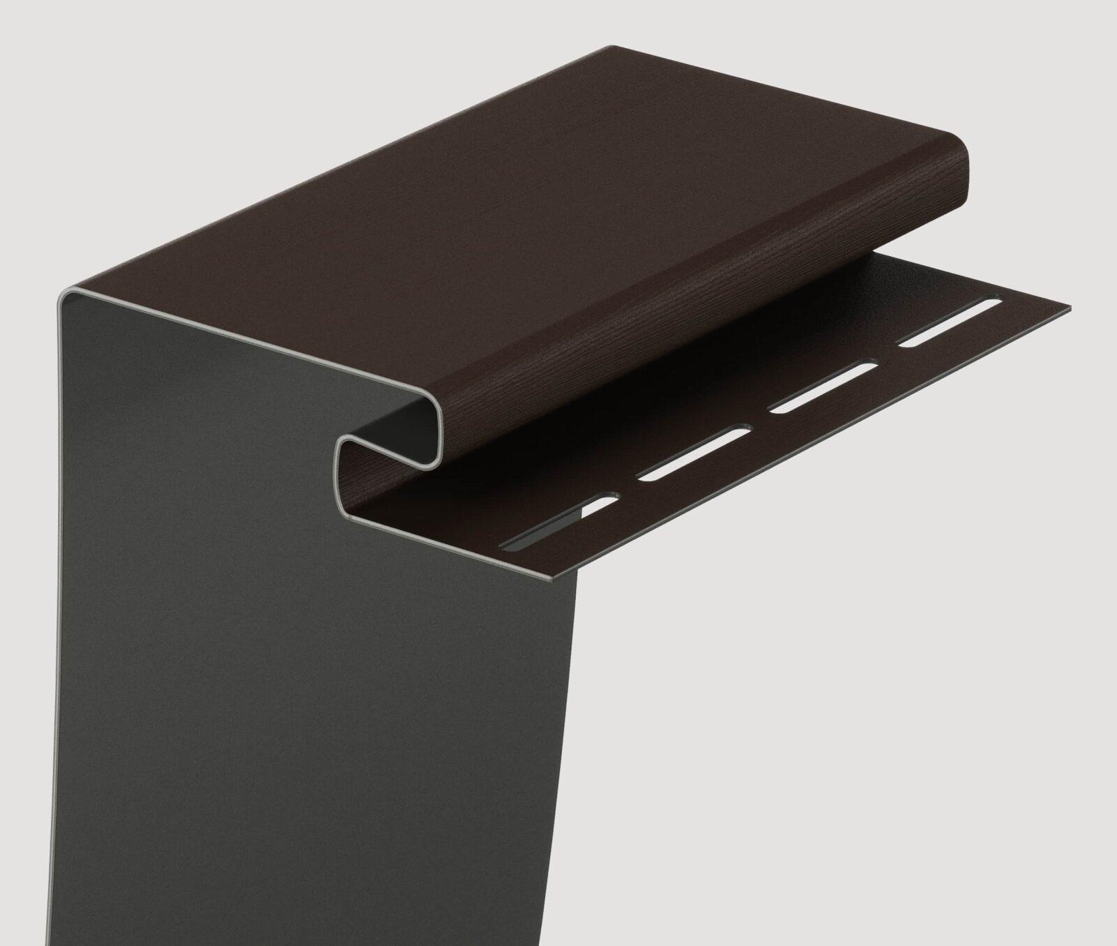 Околооконный профиль Шоколад 3600 мм